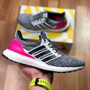 NEW Adidas UltraBoost J (B43508) Womens Running